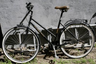 Bild-Citybike Fahrrad