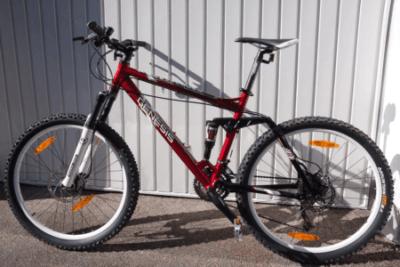 Mountainbike-Fahrrad