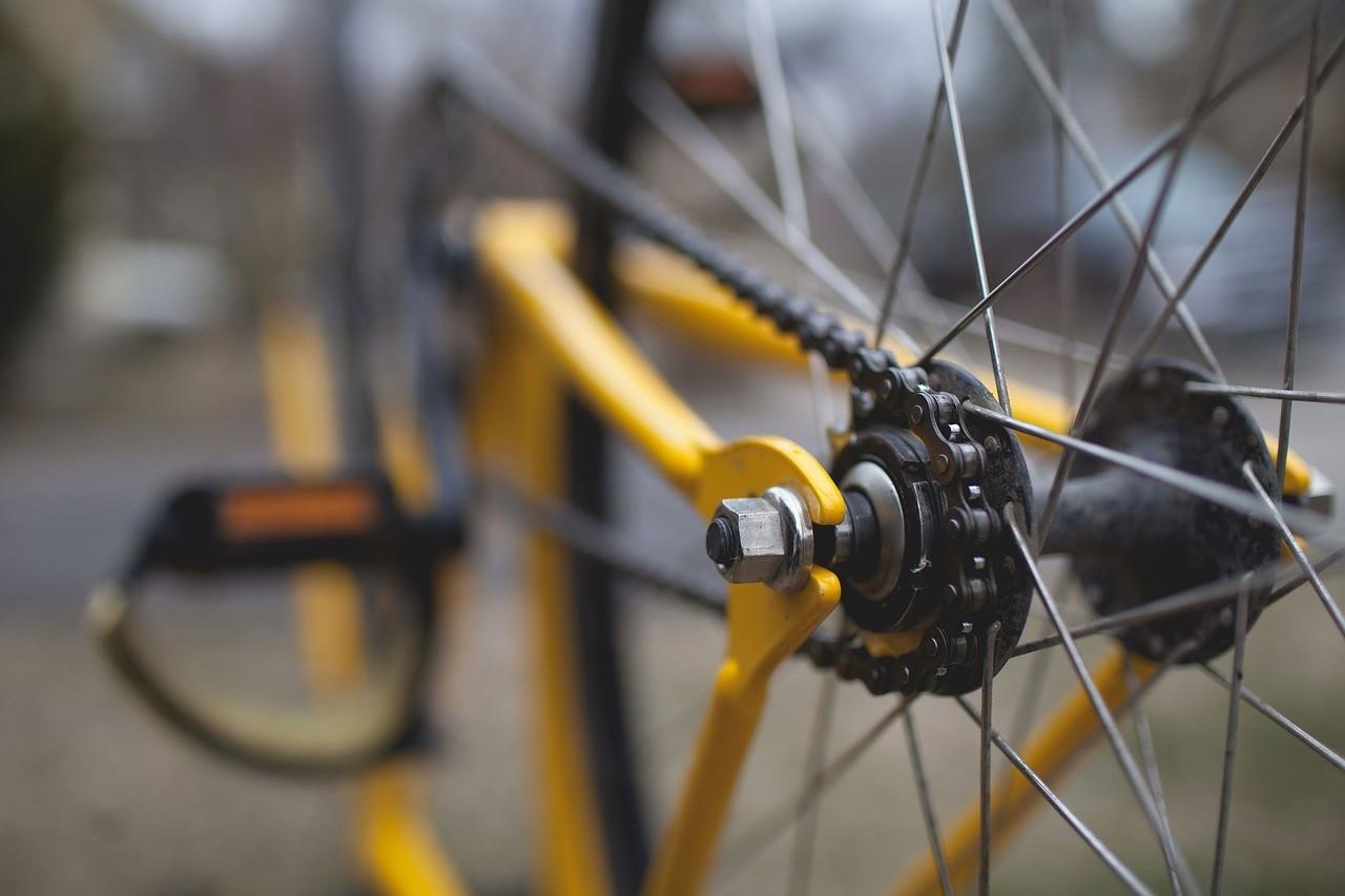 Fahrrad Nabe Kette
