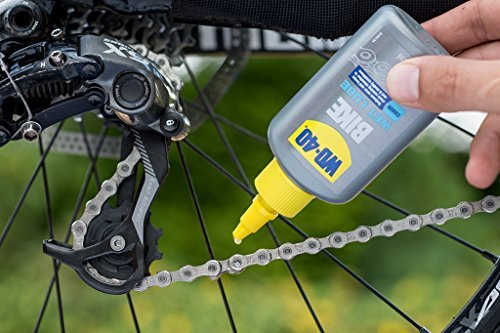 WD-40 Bike Kettenöl Feuchte Bedingungen 100 ml, transparent, 49687 - 2