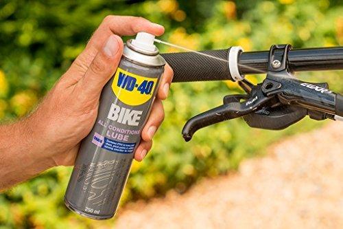 WD-40 Bike Kettenspray Allwetter 250 ml, transparent, 49703 - 3