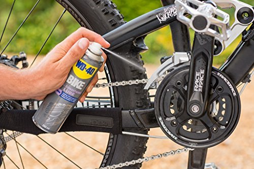 WD-40 Bike Kettenspray Allwetter 250 ml, transparent, 49703 - 5