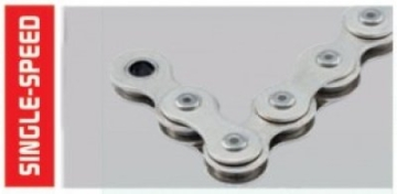 Fahrradkette Connex 7R8 7-fach Wippermann Nickel 112 Glieder -