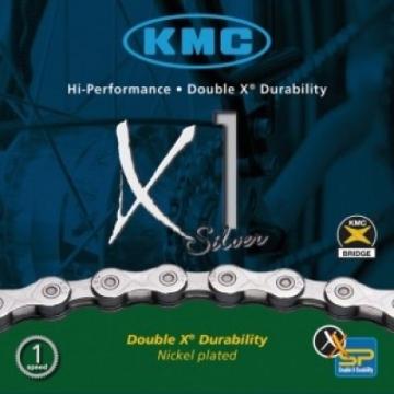 Fahrradkette KMC X1 f. Nabenschaltung 1/2 x 3/32 110 Glieder 6,7 mm -