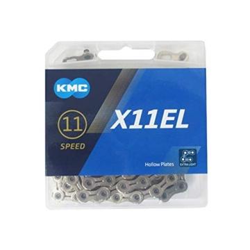 Fahrradkette KMC X11L Silver 1/2 x 11/128″, 112 Glieder -