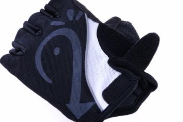 Ultrasport Fahrrad Handschuhe, schwarz, XL, 10214 -