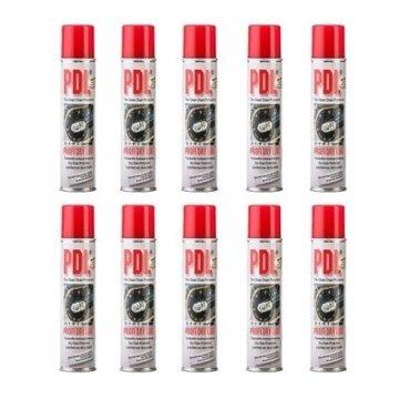10 X Kettenspray Profi Dry Lube PDL6170 à 400ml Kettenpflege