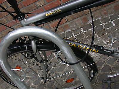 2 Stück Fahrrad Ständer 56,10€/Stk. Anlehn Parker Bike Poller Fahrrad Schloss