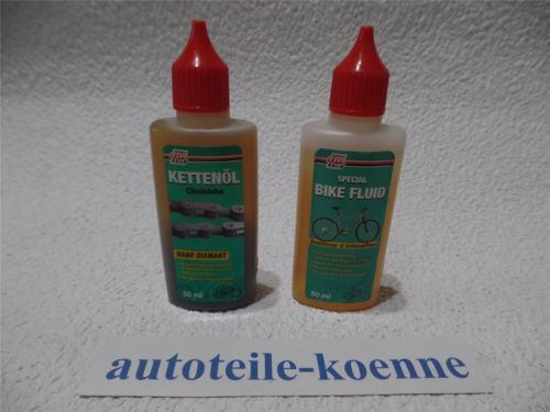 50ml Special Bike Fluid + 50ml Kettenöl NANO DIAMANT Fahrrad Rema Tip Top