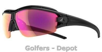 Adidas Brille a181 evil eye halfrim pro L black matt 6099 LST Bright VARIO