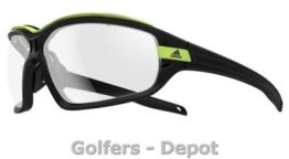 Adidas Brille a193 Evil Eye EVO Pro L black matt glow 6058 Vario