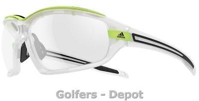 Adidas Brille a193 Evil Eye EVO Pro L crystal matt glow 6059 Vario