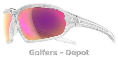 Adidas Brille a194 Evil Eye EVO Pro S crystal shiny 6070 LST Bright VARIO