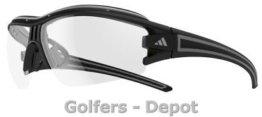 Adidas Brille a199 evil eye halfrim pro XS black matt 6093 Vario