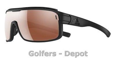 Adidas Brille ad02 ZONYK Pro S black matt 6055