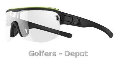 Adidas Brille zonyk aero midcut pro ad11 Small 9300 black matt glow VARIO