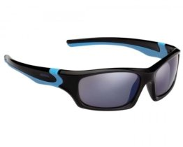 Alpina Flexxy Teen Kinder Fahrrad-Brille Gläser Blue | black-cyan