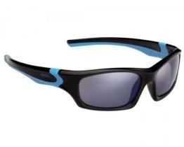 Alpina Flexxy Teen Kinder Fahrrad-Brille Gläser Blue | black-cyan