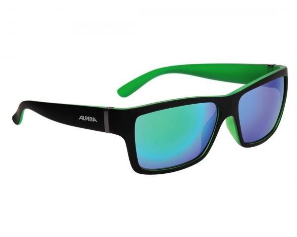 Alpina Kacey Sports Style Brille | black matt-green