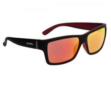 Alpina Kacey Sports Style Brille | black matt-red