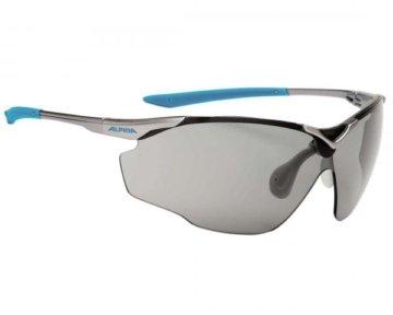 Alpina Splinter Shield VARIOFLEX Fahrrad-Brille Gläser Black | titan-cyan