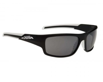 Alpina Testido Sports Style Brille | black matt-white