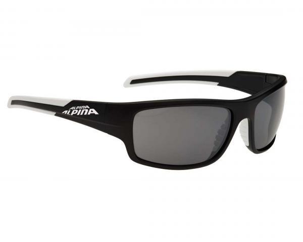 Alpina Testido Sports Style Brille   black matt-white