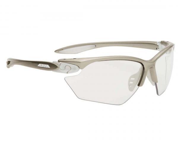 Alpina Twist Four S VARIOFLEX+ Fahrrad-Brille Gläser Black | prosecco-white
