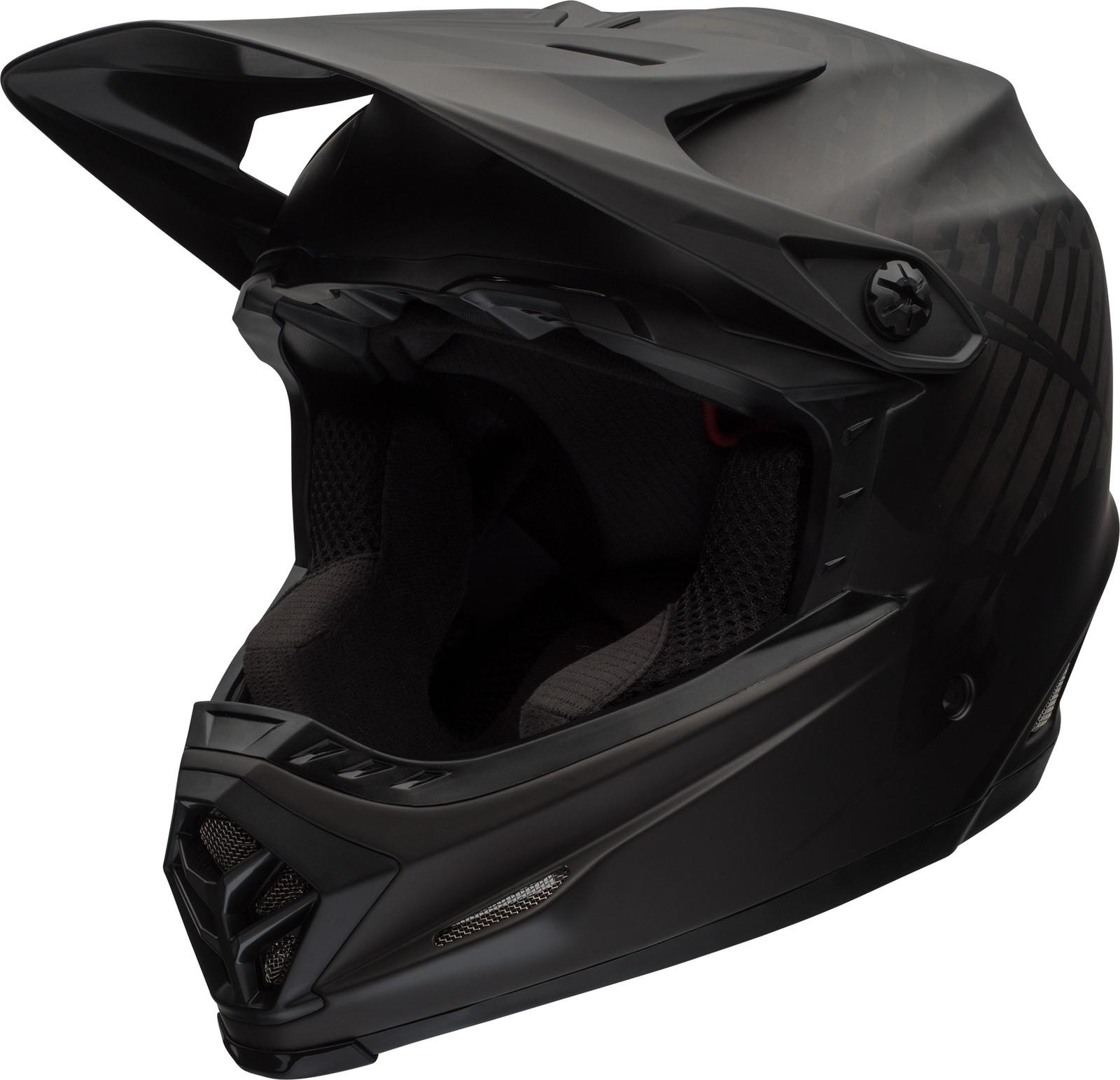 Bell Full-9 DH Fahrrad Helm schwarz/grau 2018