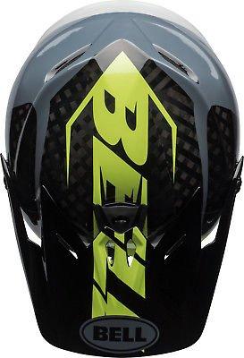 Bell Full-9 DH Fahrrad Helm schwarz/grau/gelb 2018