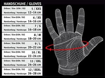 C.P. Sports Trainings Fitness Handschuh Klassik, Schwarz/Weiß, XXL, 38584 -