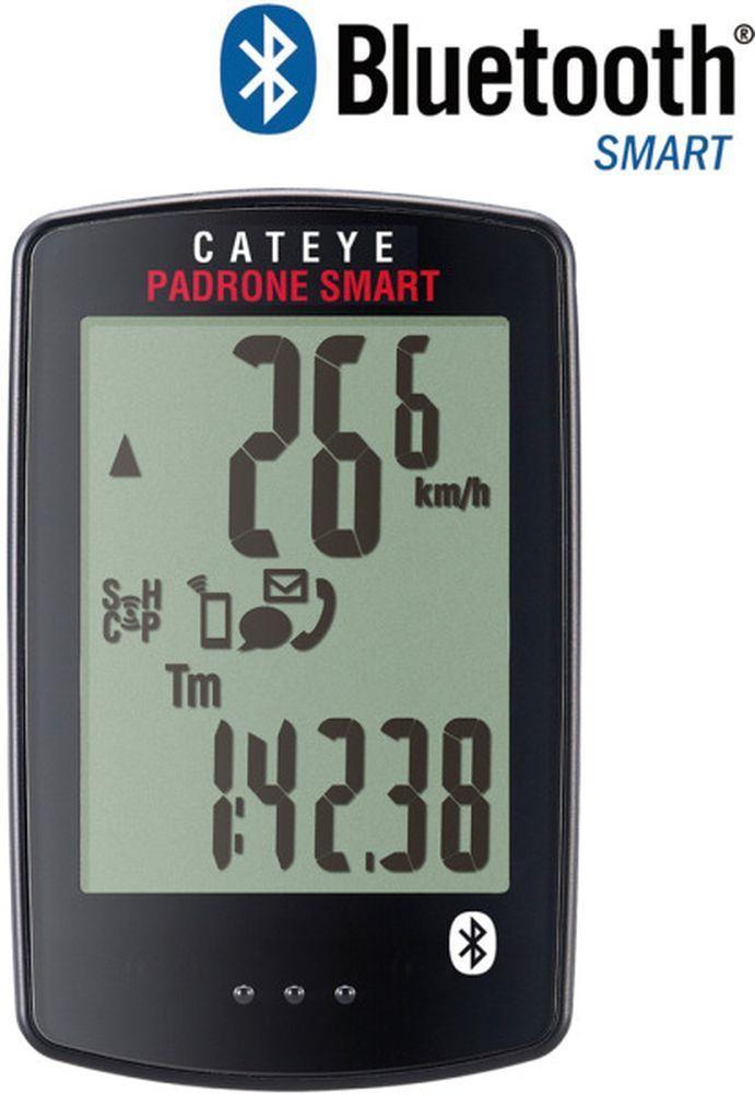 Cateye Fahrradcomputer Padrone Smart CDC CC-PA500B inkl. Senosren GPS Smartphone