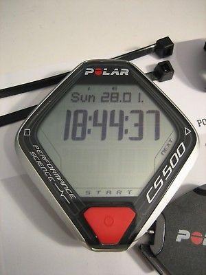 CS500 Polar Speedometer Fahrradcomputer CS 500  WORLDWIDE SHIPPING FOR FREE !