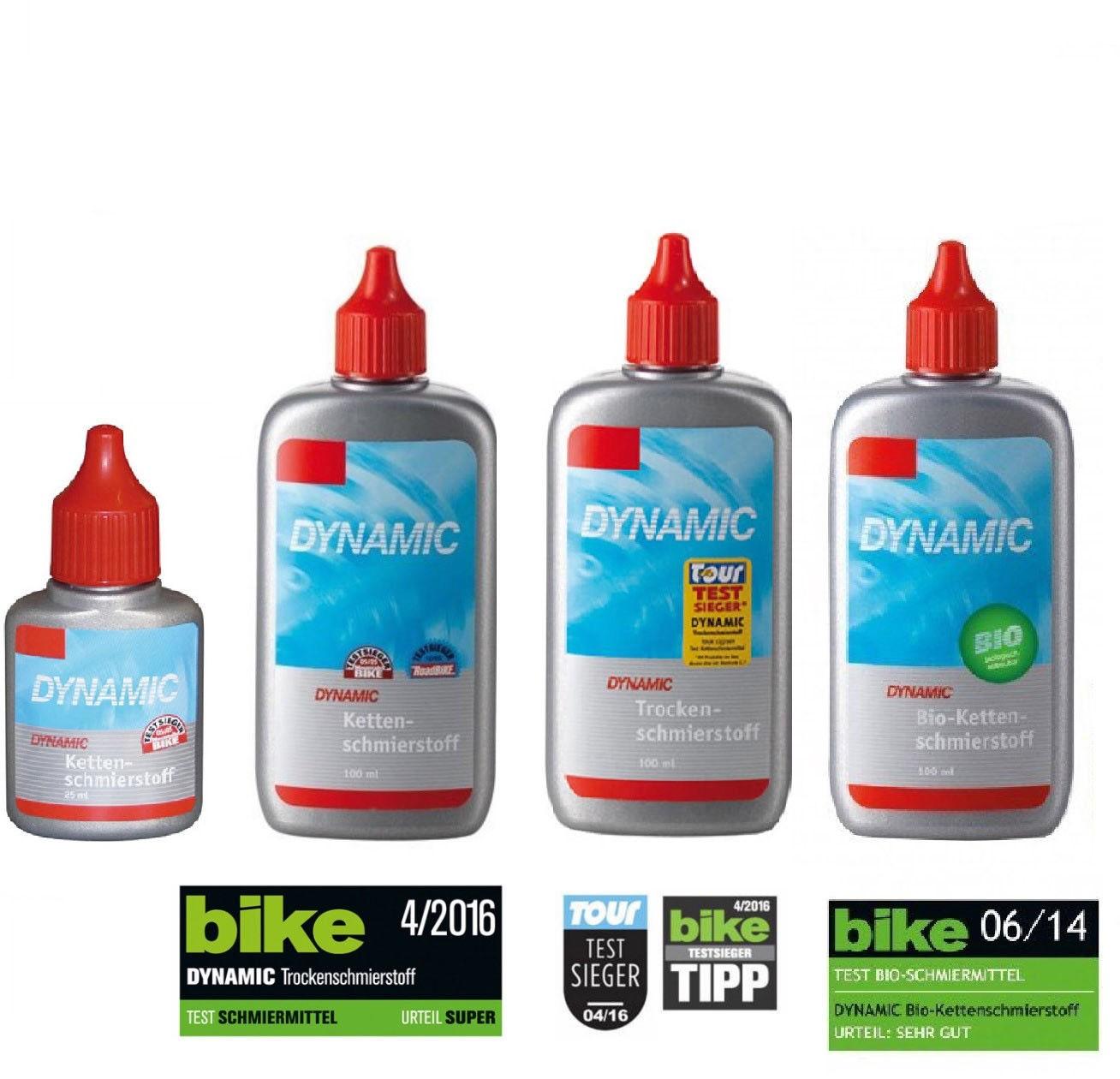 Dynamic Kettenschmierstoff F-040 Trockenschmierstoff bio Fahrrad Kettenöl chain