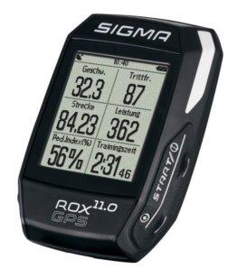 Fahrradcomputer Sigma Rox 11.0 GPS      Basic schwarz