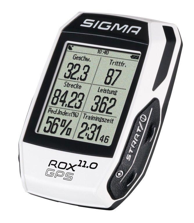 Fahrradcomputer Sigma Rox 11.0 GPS      Set weiß