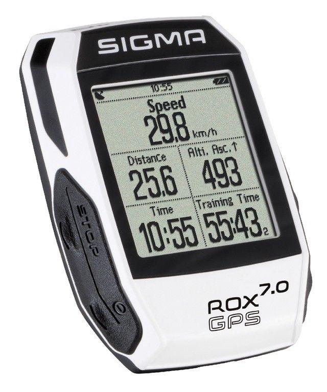 Fahrradcomputer Sigma Rox 7.0 GPS       weiß