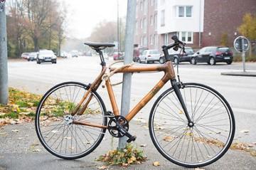 Fahrradschloss aus Hanf 110cm - Long Jon natur by Dalman Supply Leder Stahl Hanf