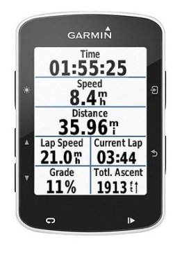 "Garmin Edge 520 Black Biker/Fahrrad Computer GPS Navigation 5,8 cm 2,3 "" Display"