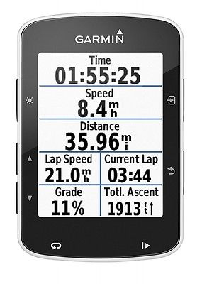 "Garmin Edge 520 Black Biker/Fahrrad Computer GPS Navigation 5,8 cm 2,3 "" Display"