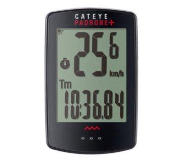 NEU:,Fahrradcomputer CATEYE COMPUTER PADRONE+ CC-PA110W SCHWARZ 1604600, FA00352