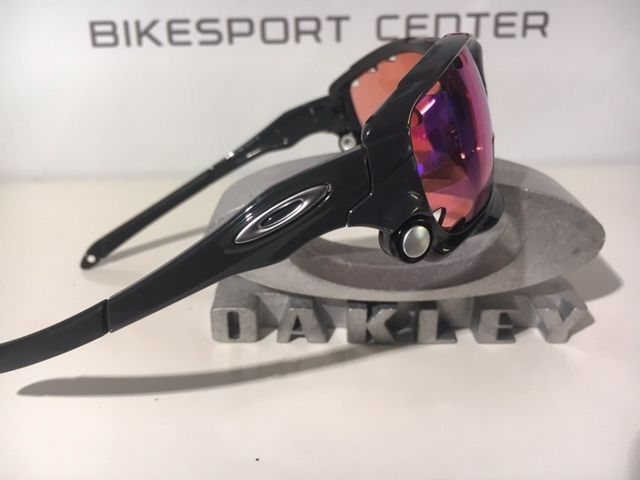 OAKLEY RACING JACKET PRIZM Trail Carbon grau MTB Brille Radbrille OO9171-3862
