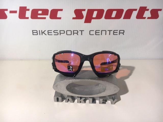 OAKLEY RACING JACKET PRIZM Trail Carbon grau MTB Brille Radbrille OO9171-3862