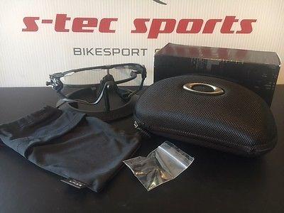OAKLEYJAWBREAKER Brille Sonnenbrille Fahrradbrille Bike schwarz photochromic °