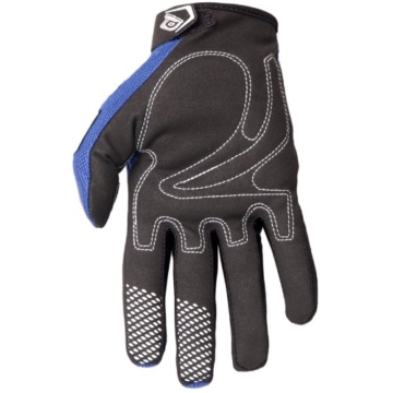 O'Neal Element Handsschuhe RACEWEAR blau schwarz Moto Cross Downhill Enduro Gloves, 0398R, Größe Large -