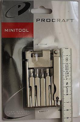 Procraft Multitool Microflat 11 mit Kettennietdrücker