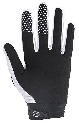 Seibertron Herren Handschuhe Dirtpaw Race Fahrrad Handschuhe sporthandschuhe für Radsport MTB Mountainbike Outdoor Sport Bike Gloves (weiß, M) -