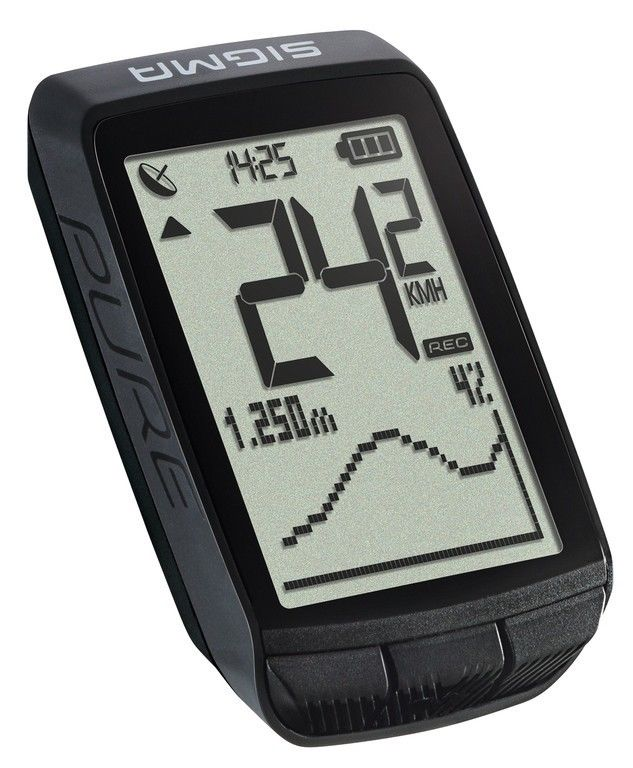 SIGMA Fahrradcomputer Pure GPS-schwarz