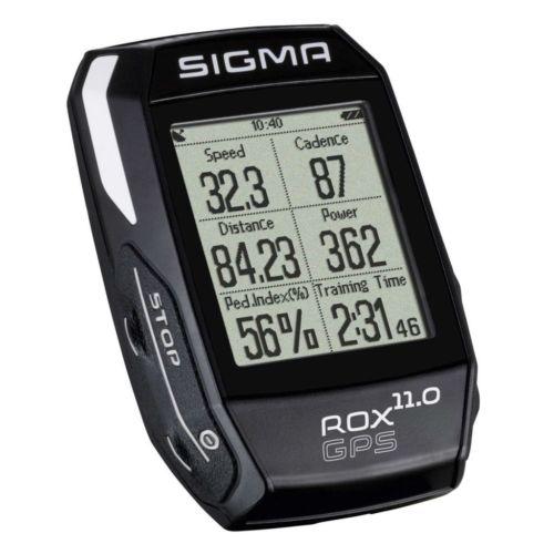 Sigma Fahrradcomputer-Set Kilometerzähler kabellos digital ROX GPS 11.0 1008