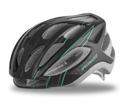 Specialized Womens Sierra Road Helm   Black-Emerald Arc